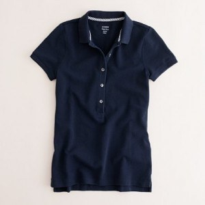 Available in 7 colors and all sizes, this Parisian Polo won't let you down.