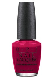 Bogata Blackberry.  Part of OPI classics collection, discontinued but still available at most Nashville salons and online.  A great happy choice in a sea of earth tones.
