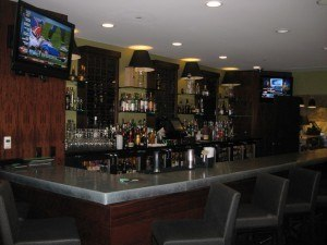 The Hutton's cozy and intmate bar