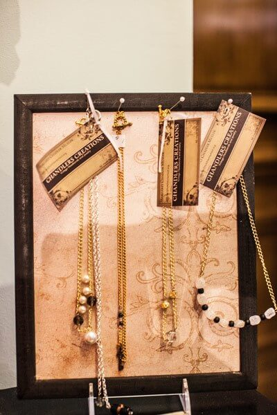Chandler's Creations is a line of accessories created by Christy's daughter, Meggy.
