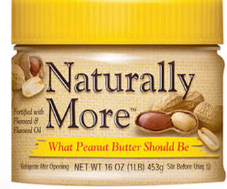 Naturally More Peanut Butter