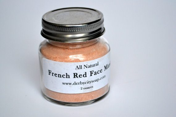 French Red Clay Face Mask, $11