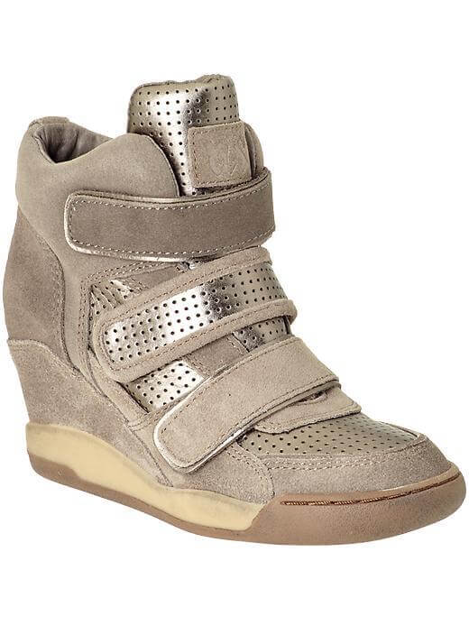 The Ash sneaker wedge is a celeb fav available at Piperlime.