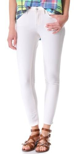Work white denim through the fall with these skinny jeans by Madewell. $69