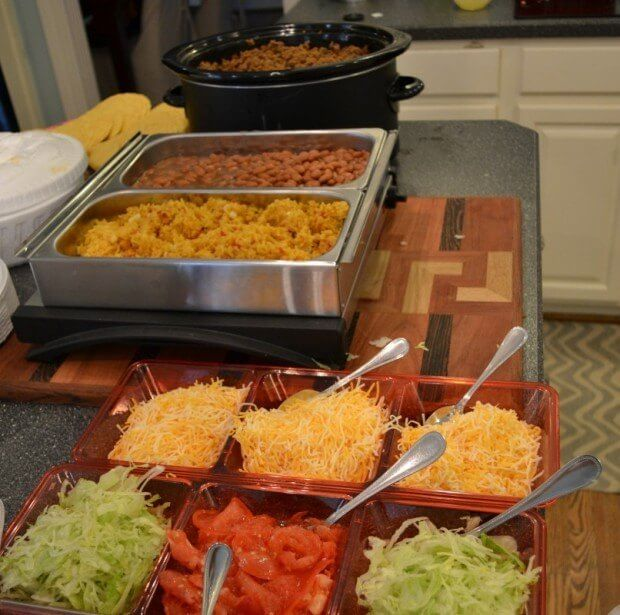 Taco Bar — How to Feed a Crowd