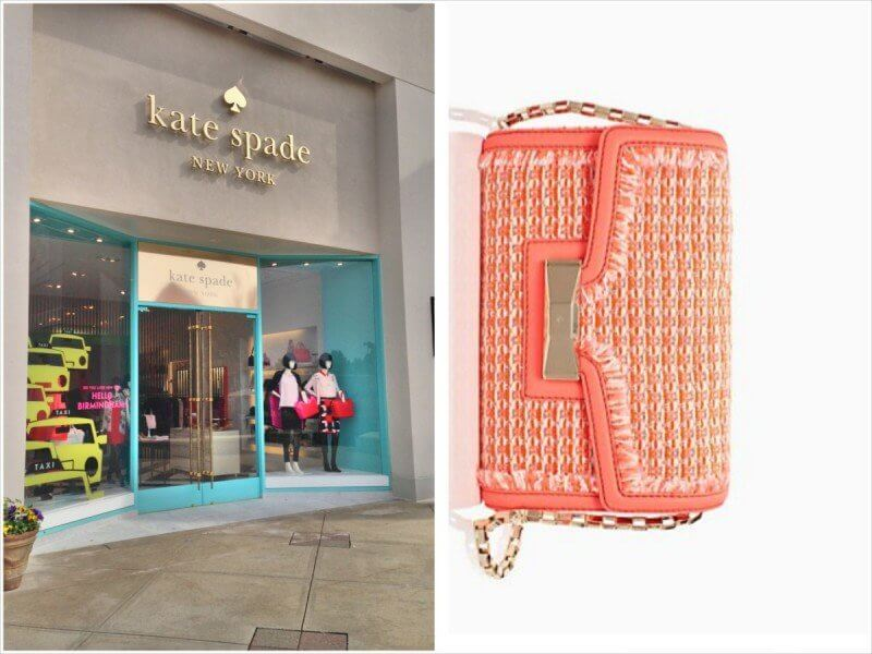 Kate Spade is located between Belk and Gus Mayer. Tweed bag available for $348.