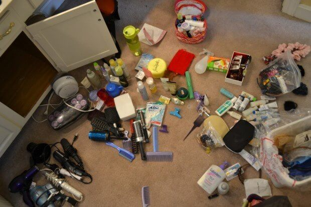 Hair Product Hoarder