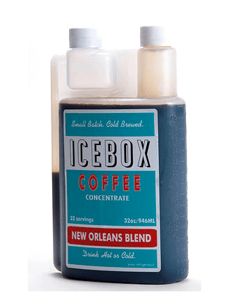 Ice box coffee