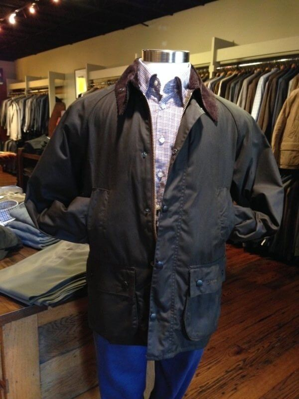 Barbour Jacket at Mobley & Sons