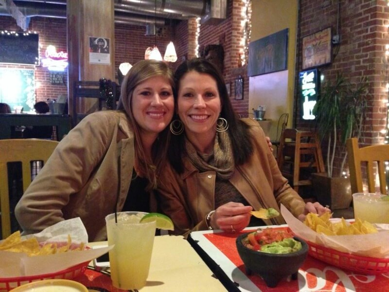 Friendship and good mexican fare go hand in hand!