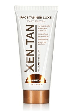 Xen tan gives natural color to your face without any funky smell.