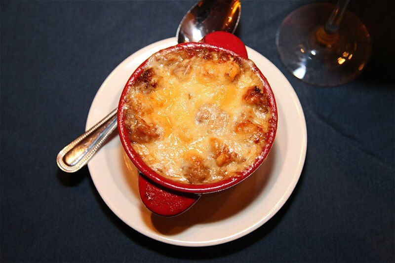 French onion soup at Café 1912 in Midtown | Image courtesy of Café 1912