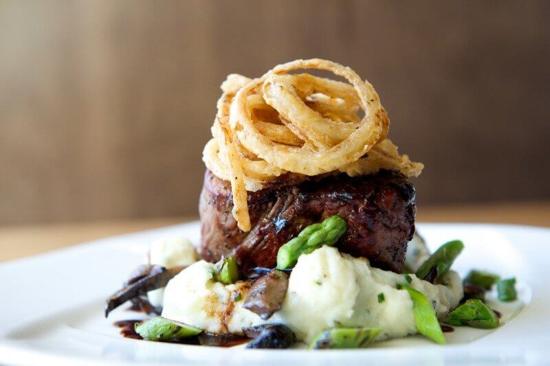 The Southern has fantastic steaks and seafood!