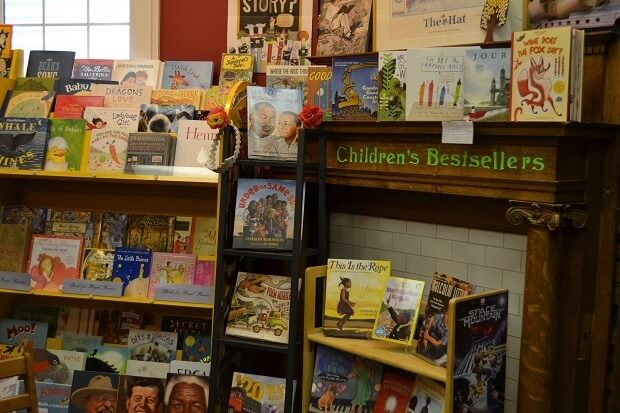 "Carmichael's Bookstore: local, family-run and ""just the right size"""