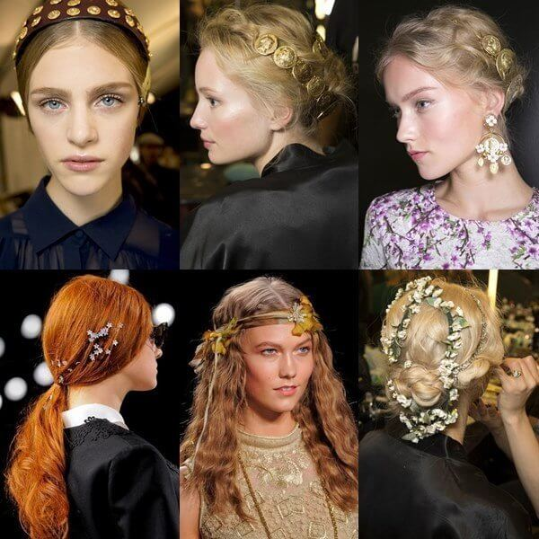 Hair Accessories storm the runways. Photo credit: http://www.gorgeautiful.com/the-most-anticipated-hairstyle-trends-for-spring-summer-2014-part-2/