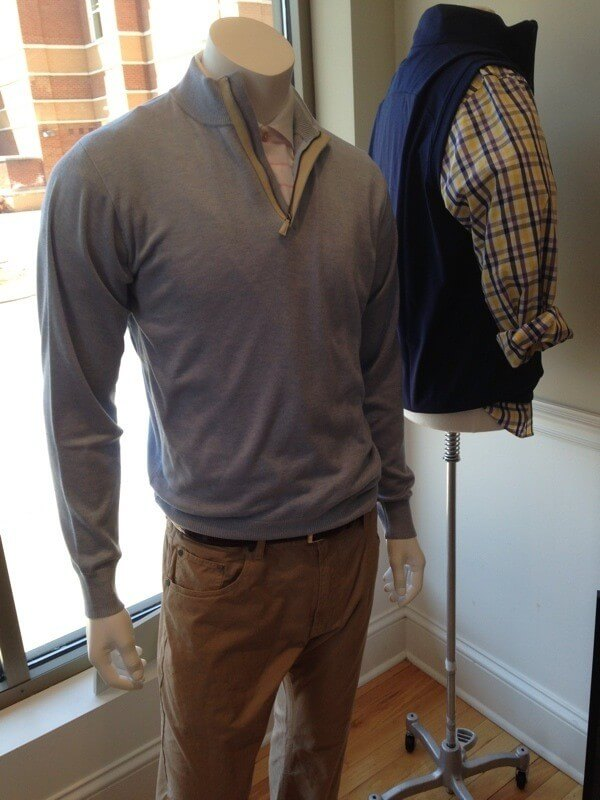 Peter Millar pullover from The Oxford Shop. $245.