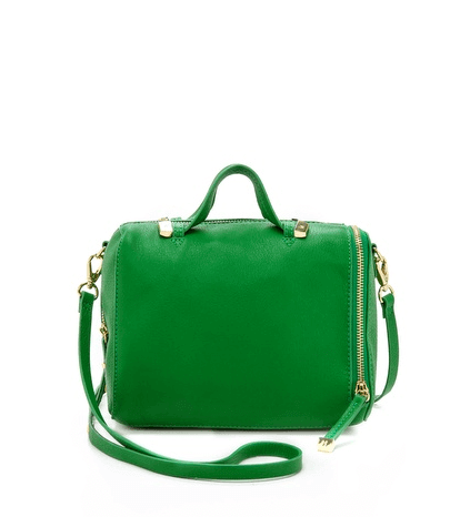 Halston Heritage Leather Mini Satchel $325. At Shopbop.