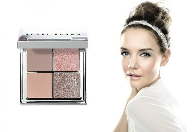 Katie Holmes for Bobbi Brown. Photo credit: http://aishtiblog.com/beauty-bobbi-brown-get-glowing/