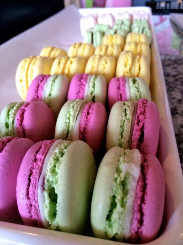 French Macaroons from The Painted Cupcake