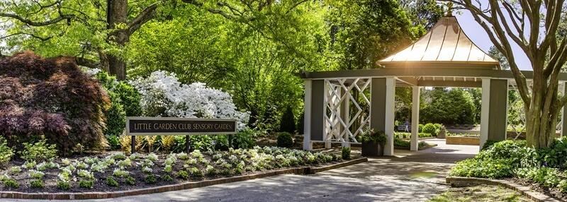 Sensory Garden entrance