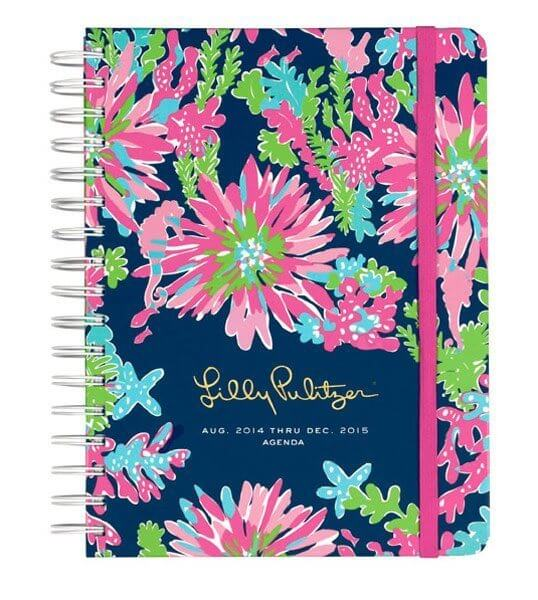 Lilly Pulitzer Agenda at Swoozies $28 Perfect for the school year!
