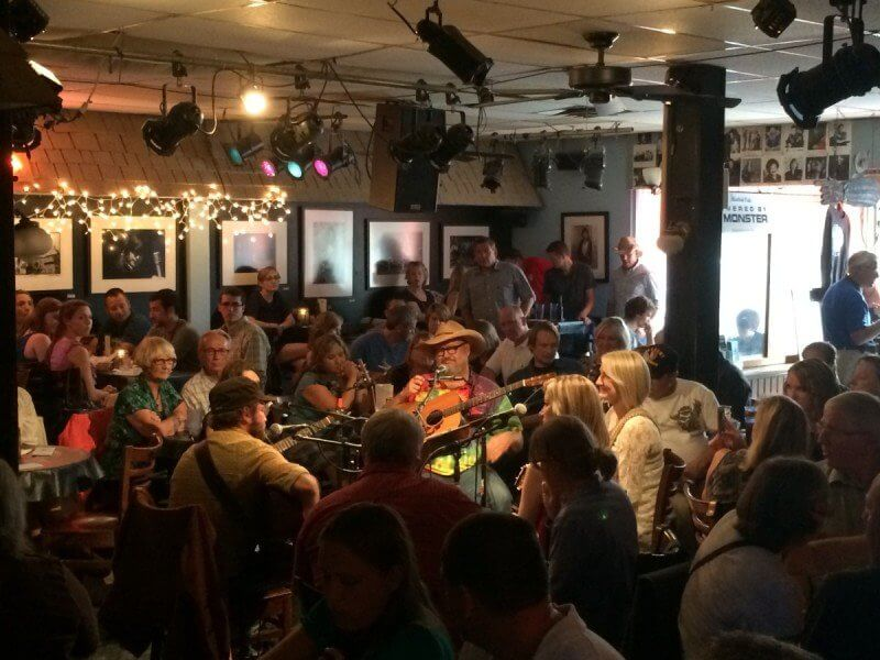 Audience at the Bluebird Cafe in Nashville, TN.