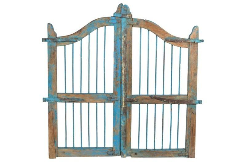 Merridian antique gate for headboard for home decor fall 2014