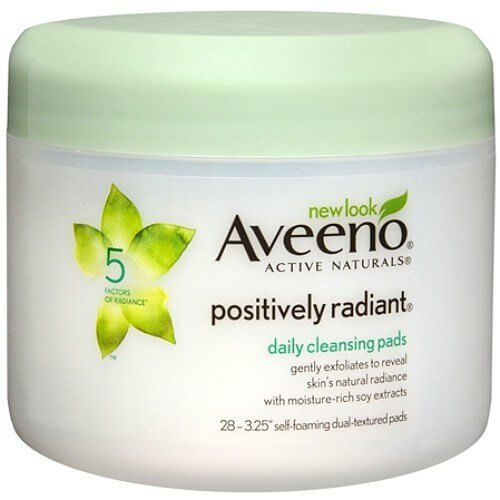 aveeno cleansing pads
