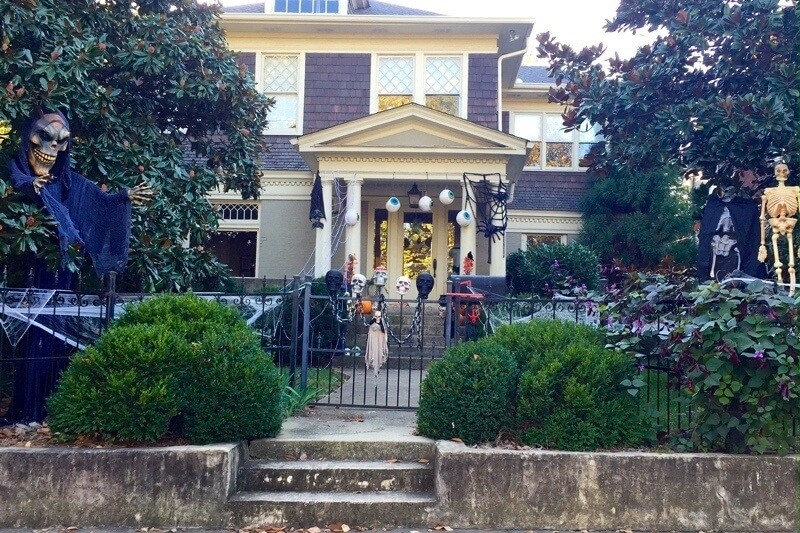 Are These the BEST Halloween Yards in Nashville?