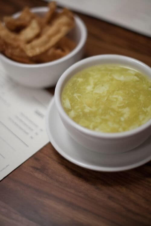 SB Joy Luck Restaurant Egg Drop Soup