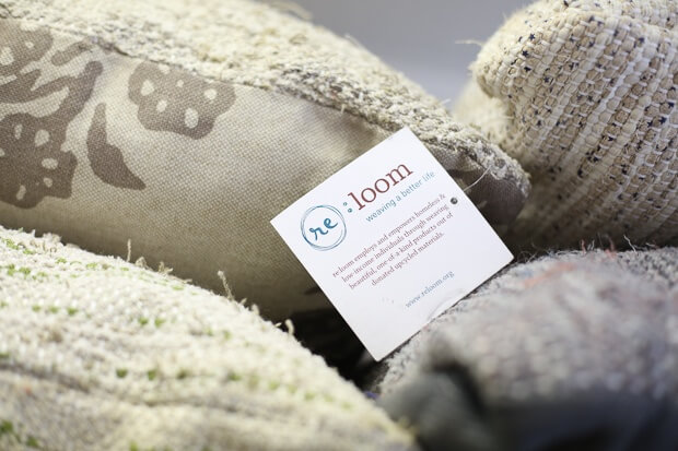 The re:loom project assists those transitioning out of homelessness through training and employment.