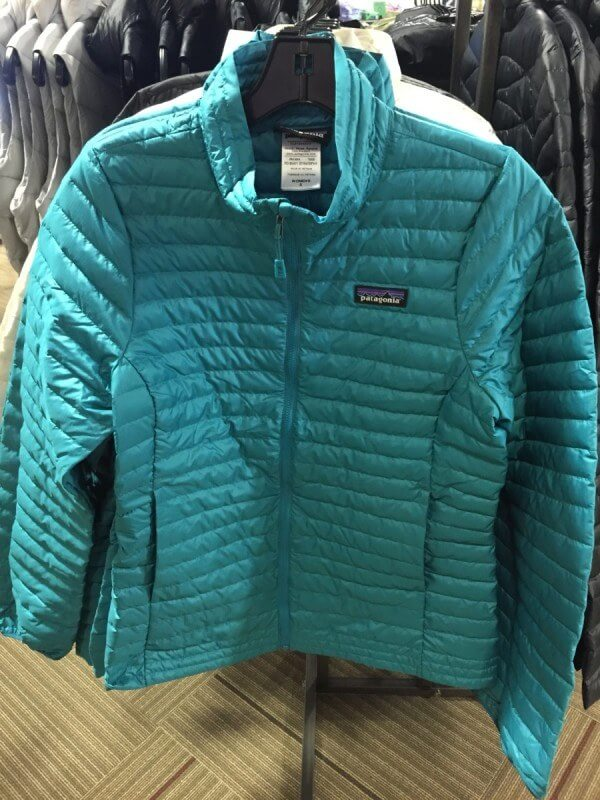 Lightweight, yet warm, this Patagonia jacket is a great option. $ at Alabama Outdoors.