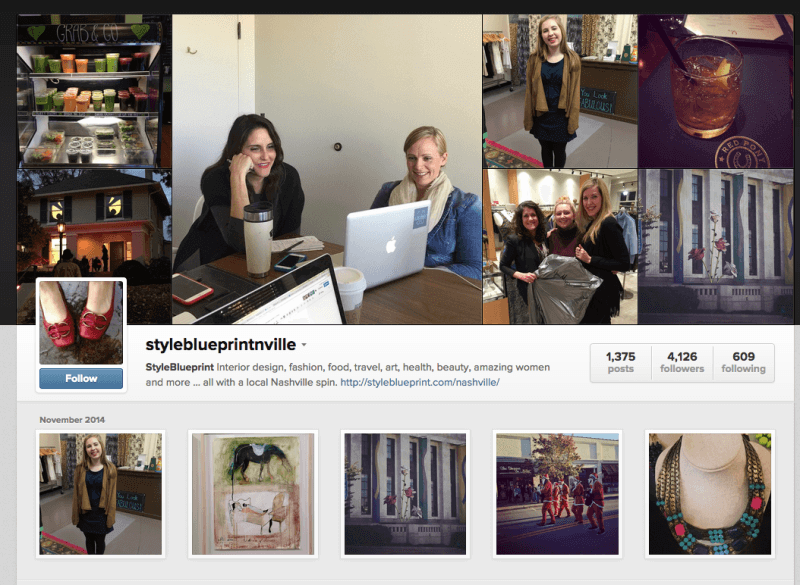 Follow us on Instagrams for local FINDS each day! http://instagram.com/styleblueprintnville