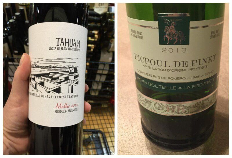 These two came highly recommended by our friends at Western Wine Shop.