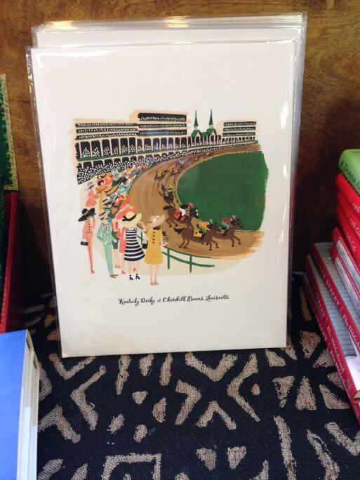 Kentucky Derby poster from Carmichael's Bookstore