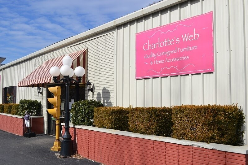 Great Louisville Consignment Furniture Stores-Charlotte's Web on Lyndon Way off Thierman Lane in St. Matthews