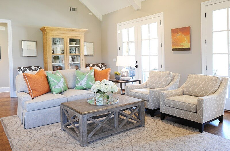 A Home by Chestnut Hall - family room