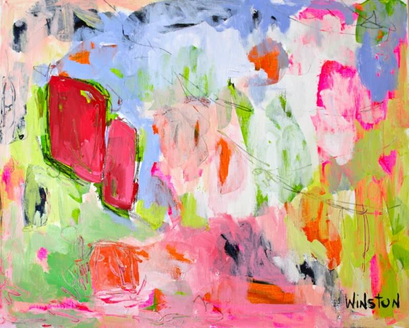 Winston Wiant's dynamic paint strokes really pack a punch!