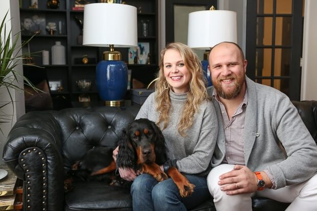 Kirk and Brittany Stafford's Historic Downtown Atlanta Abode