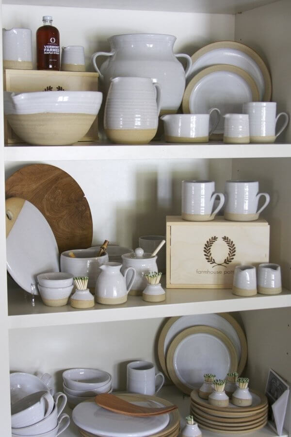 Farmhouse Pottery is made in Vermont and is perfect for your everyday needs.