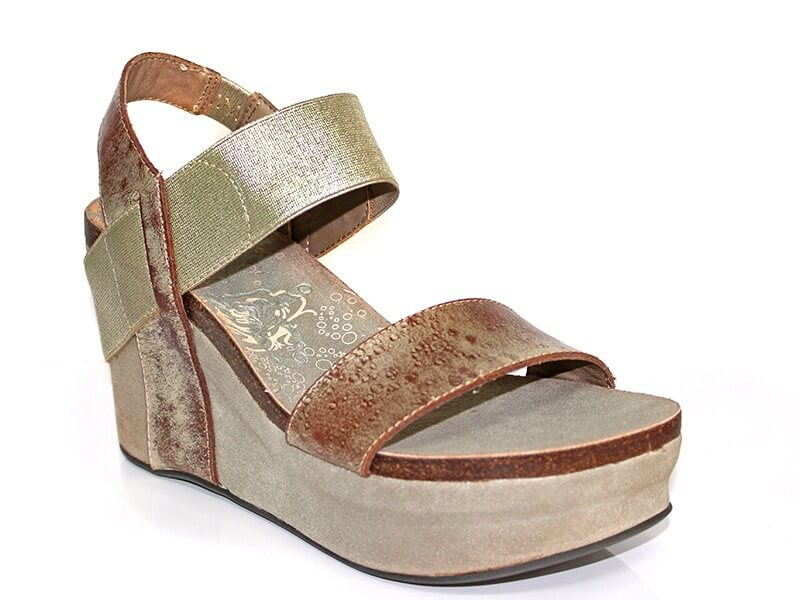 If you're looking to buy only one new pair of sandals this season, this is a great option- comfort, manageable height, multiple color options, and a great price!  From The Pants Store: OTBT, $125