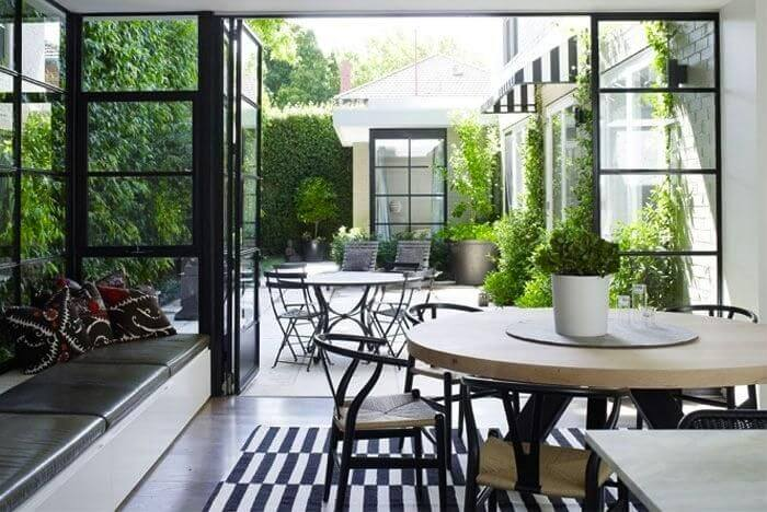 Steel and glass doors and windows