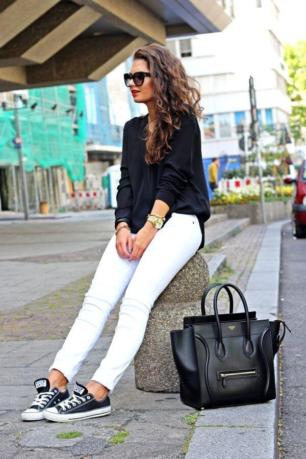 converse with white jeans