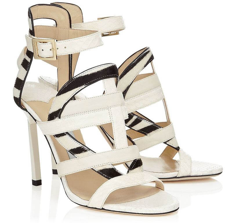 The Vanquish sandal by Jimmy Choo, available in-store at Joseph, $1195 | Image courtesy of Joseph