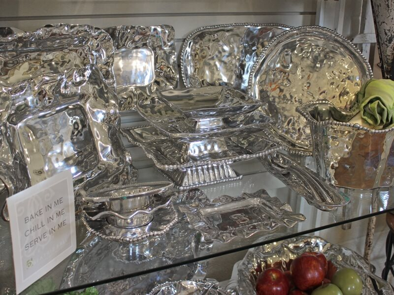 Handmade metalware by Beatriz Ball that you will love as much 20 years from the day you buy it.  You can bake, chill, and serve straight from the same dish.