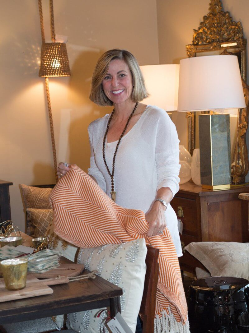 Another behind-the-scenes team member at Ray & Baudoin, Ragan Magness also manages showroom operations and works as a design assistant. | Image credit: Julie Wage Ross
