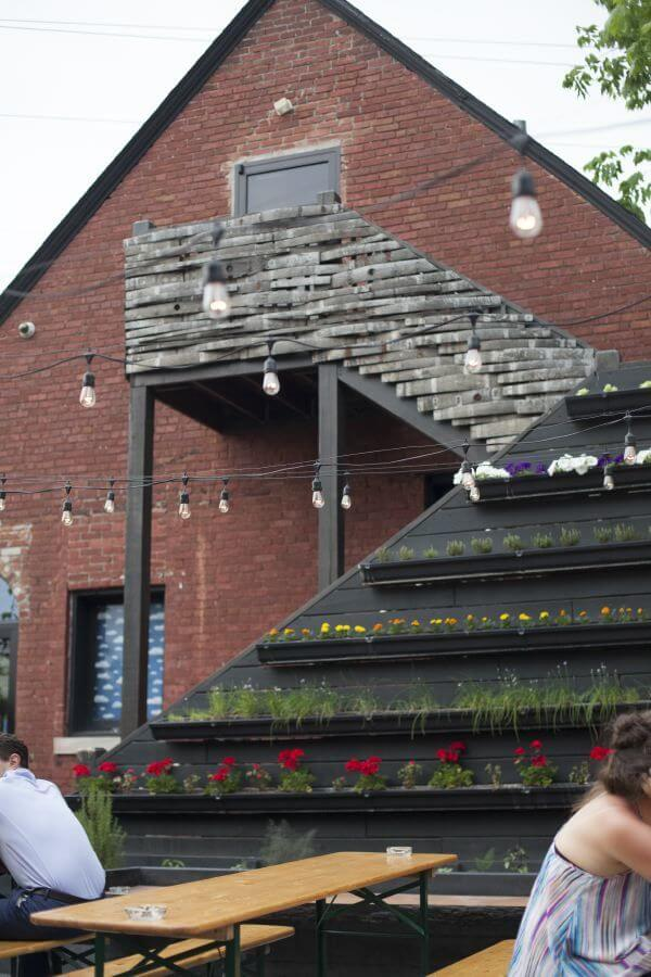 Holy Grale's Biergarten Patio