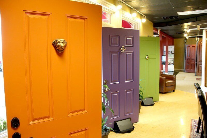 Paint your Door for instant Home Makeover