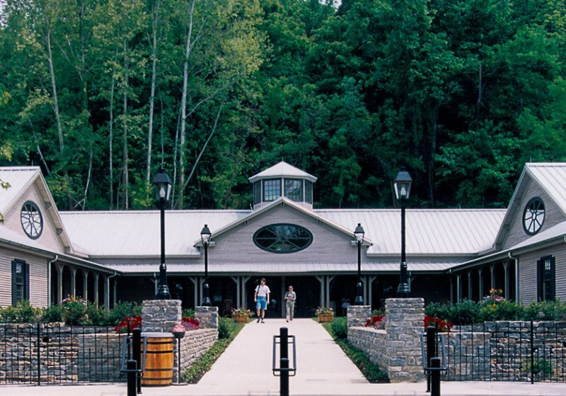 The Jack Daniels distillery in Lynchburg, TN shares the entire story of Jack and his famous whiskey.