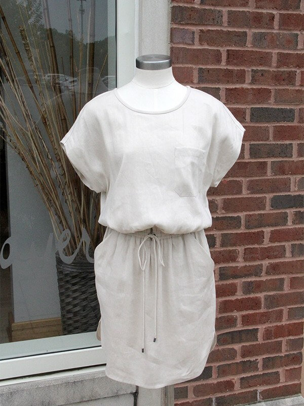This linen Vince dress from Gus Mayer is great for summer, spring and fall!